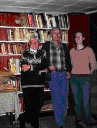 Louise et Paul Brault avec Marie-Andrée Fortier